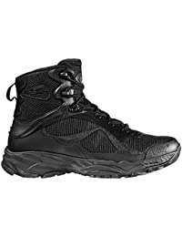 Hi-Tec - Opus Mid Black Security Paintball Ultra Lightweight Tactical Boot black Size: 13