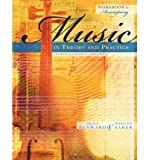 [(Workbook to Accompany Music in Theory and Practice, Volume 1 with Finale Discount Sticker )] [Author: Bruce Benward] [Aug-2008]