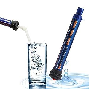 Shaddock Angeln Tragbarer Wasserfilter Strohhalm Outdoor 2000 l Personal Wasser Reiniger Stroh Survival Wasser…