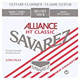 Cordes Savarez 545r Cordes de guitare classique en bronze, Medium