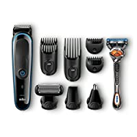 ‏‪Braun 9-in-1 All-in-one Trimmer MGK3080, Beard Trimmer and Hair Clipper, Body Groomer‬‏