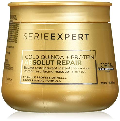 L\'Oréal Professionnel Série Expert Absolut Repair Gold Quinoa + Protein Instant resurfacing masque - Intensive, reparierende Maske, 250 ml