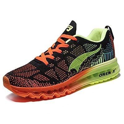 Onemix Air Laufschuhe Herren Straßenlaufschuhe Sneaker mit Luftpolster Turnschuhe Sportschuhe