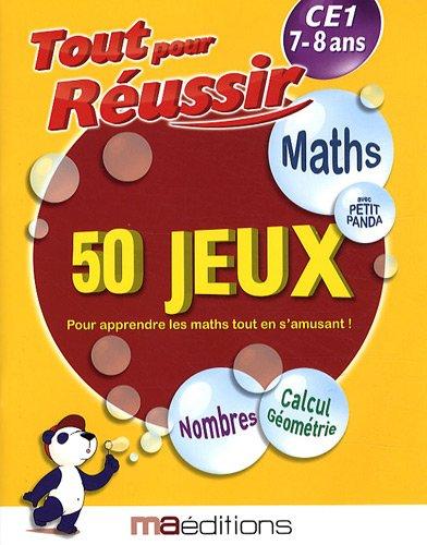 Maths avec petit panda : 50 jeux CE1 7-8 ans par Laurent Audouin, René Canella, Philippe Chauvet, Corinne Tarcelin