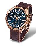 Vostok Europe Montres Homme - Bracelet en cuir & résine 6S11-320B262 L