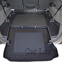 Car Lux AR00404 - Alfombra Bandeja Cubeta Protector cubre maletero a medida con antideslizante
