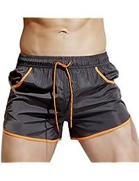 Dolamen Bañador de Natación Boxer para Hombre, 2018 Hombre Bañador Traje de Baño Pantalones Cortos Playa Piscina, Con cordón ajustable dentro & Bolsillos