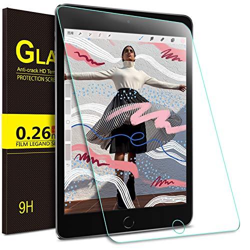 ELTD Glas Displaysfolie für iPad Mini 5 2019,Rounded Corners 2.5D, 9H Härte, gehärtetes Glas Displayschutz Glasfolie Panzerfolie für Apple iPad Mini 5 2019 7.9 Zoll (1 Stück) - Protector Mini Screen 2 Ipad
