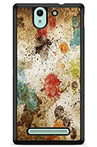GeekCases Color Wash Back Case for Sony_Xperia Xperia C3