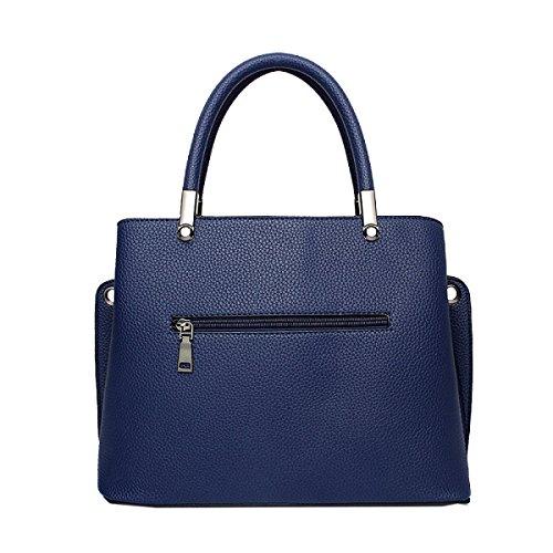 Yy.f Explosion Modelle Handtaschen Neue Retro Gemischte Farben Schulter Diagonal Handtasche Art Und Weise Extrinsische Intrinsische Und Praktisch. Multicolor A
