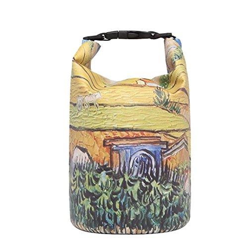 SANFASHION Drifting Bag Waterproof Bag Dive Bag Beach Bag Storage Bag (20L, Multicolor)