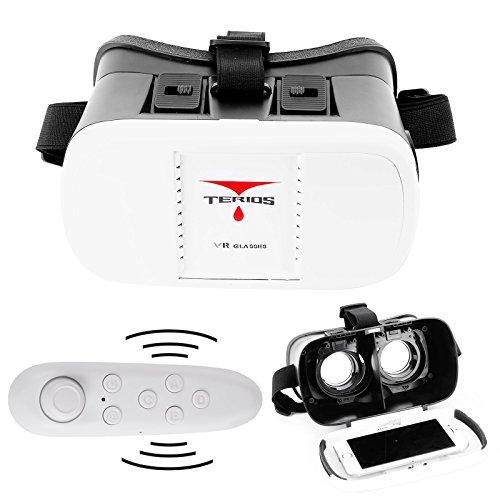 Gafas-VR-BOX-Versin-20-3D-Realidad-Virtual-para-Smartphone-Telfono-Mvil-de-35-60-con-Mando-inalmbrico