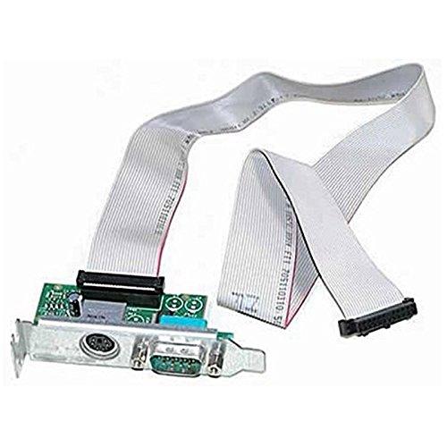 Karte Serie DB-9 + PS / 2- Dell 0Y73TJ Y73TJ Kabel N3563 optiplex SFF low profile -
