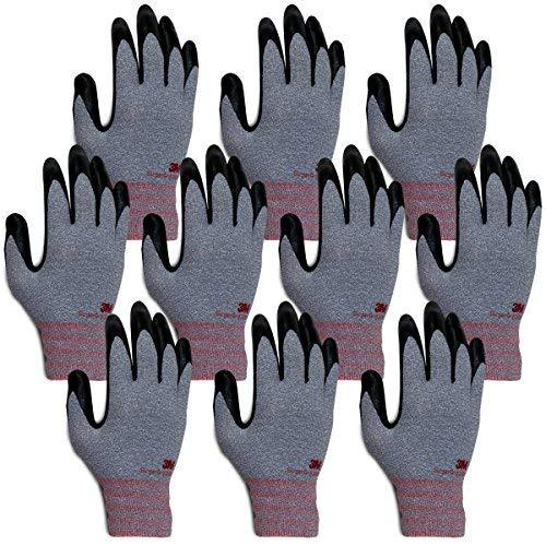 3 m Super Grip 200 tous les Jour Confort avec revêtement en mousse nitrile travail Gloves-10 paires, Super Grip 200