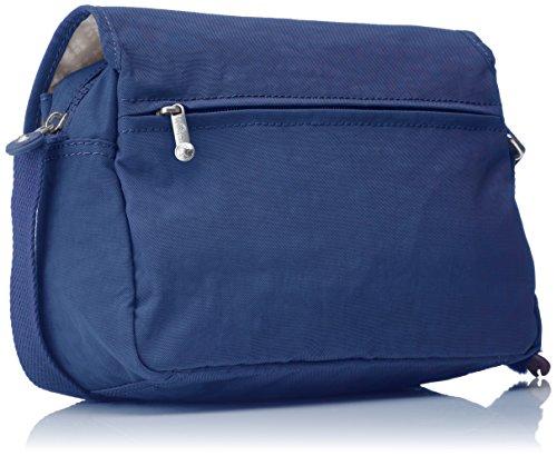 Kipling Damen Cayleen Umhängetasche, 9 x 26 x 17.5 cm Blau (Jazzy Blue)