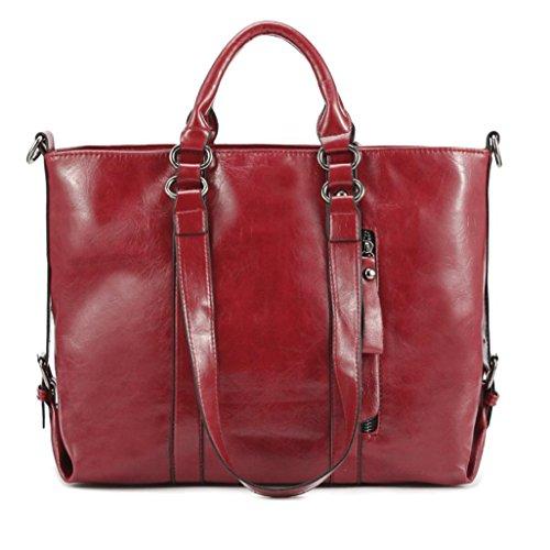 WINWINTOM Bag ,  Mädchen Damen Unisex Erwachsene Tasche rot