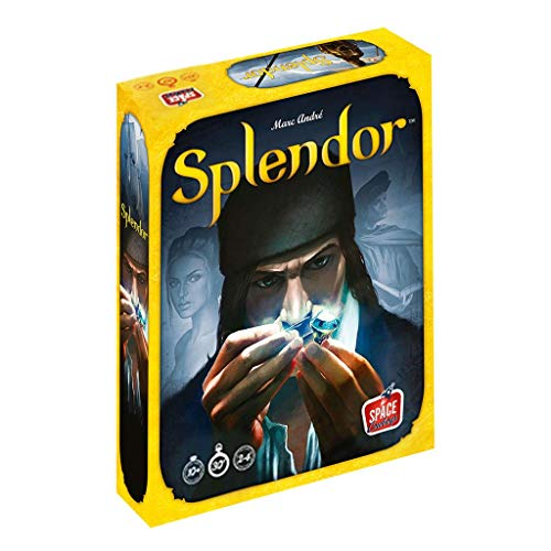 Asmodee- Splendor - Español/Ingles, Color (ADE0SPL01ML)