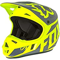 Fox 2017 Kinder Motocross / MTB Helm - V1 RACE - gelb