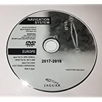 2017 – 2018 Jaguar Xf XK Freelander 2 GPS Map Update DVD UK Europa