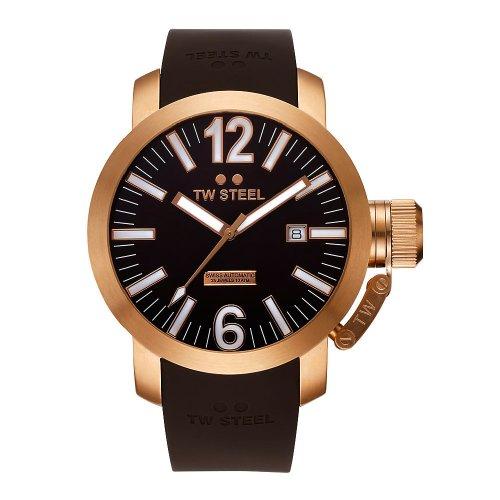 tw-steel-twa-97-reloj-analogico-unisex-automatico-con-correa-de-goma-negra-sumergible-a-100-metros