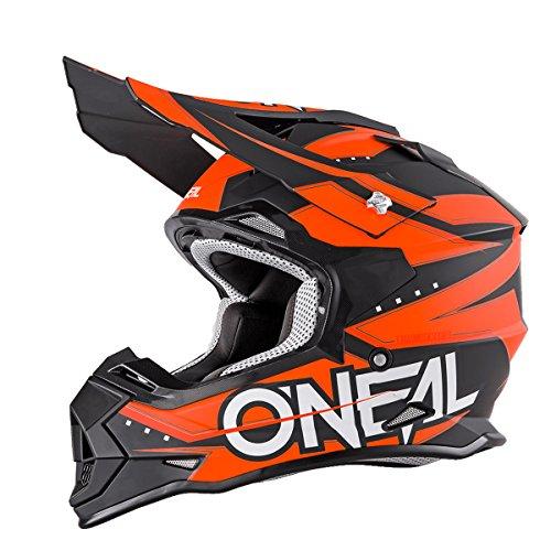 O'neal 2 Series RL Motocross Enduro MTB Helm Slingshot orange/schwarz 2017 Oneal: Größe: S (55-56cm)