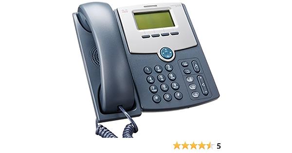 black//dark grey Cisco SPA512G 1 Line IP Phone with 2 Port Gigabit Ethernet Switch