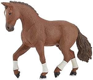 Papo- Alezan Hanovrian Horse Figura, Multicolor (51556)