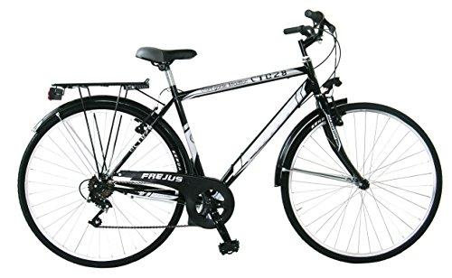 Frejus Trekking Bicicletta Uomo, Nero