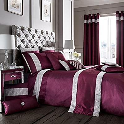 Luxury Duvet Cover and Pillowcase Set Quilt Bedding Set With Pillow Cases Single Double King Super King Size Oxy Printed Reversible - inexpensive UK light store.