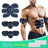 Best Body Toners - Abs Trainer Muscle Stimulator, SLB EMS Muscle Toner Review