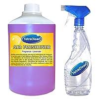 Tetraclean Multipurpose Lavender Fragrance Air Freshner With Free Spray Bottle (1100ml)