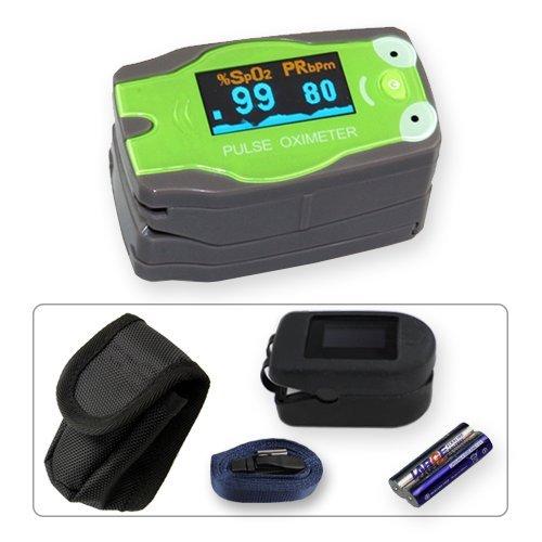 Kinder Fingerpulsoximeter MD300C53 mit OLED-Anzeige *Frosch