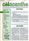 Celacanthe n°62 : les essais, août 1991 au p.c.c.t., encore des assistés par ordinateur, 14 juillet à biscarosse bourg, passation de commandement, la convention des droits de l'enfant, les visites, tableau d'honneur, mutations, voyage en autriche...
