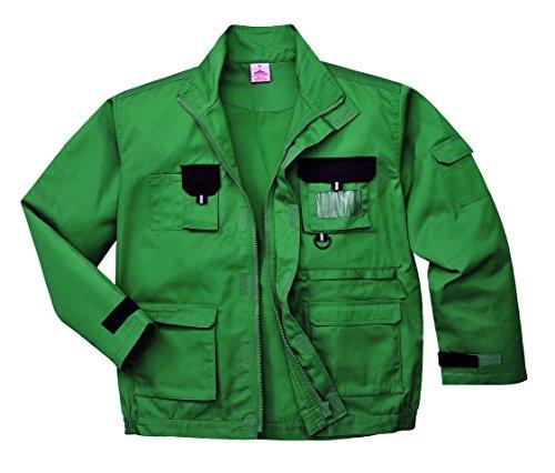 Portwest TX10GRRL Texo Kontrast jacket_p, groß Gr. XX-Large, Grün - Bottle Green