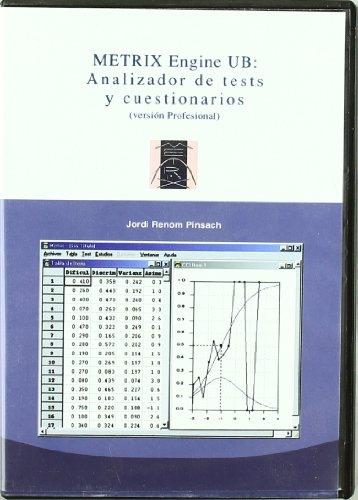 Metrix Engine UB: Analizador de test y cuestionarios (CD-ROM)