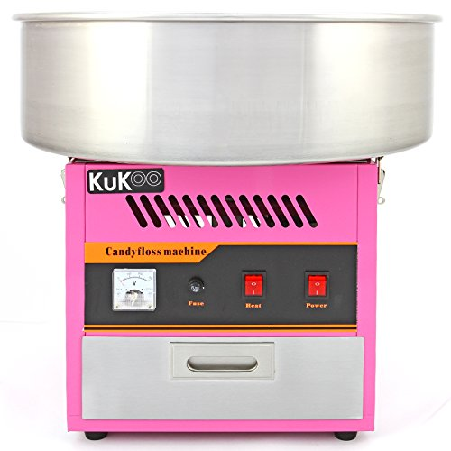 KuKoo Candy Floss Making Machine / Cotton Candy Maker / Fun Party Cooking Snacks
