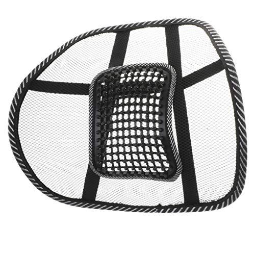 Hellery Massage-Knoten Lordosenstütze Rückenstütze Rückenkissen für Autositz Oder Bürostuhl