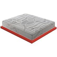 Materassi&Doghe M&D – Memory Foam colchón con 11 Diferentes Zonas – 7 cm Memory Foam –