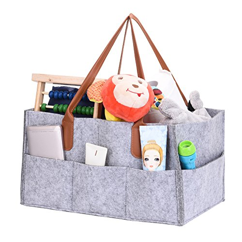 Windel Caddy, Aufbewahrungstasche, Faltbare Filz Kinder Spielzeug Organisation Tote Organizer Kinderzimmer Lagerplatz Feuchttücher Bag Windel Organizer Caddy
