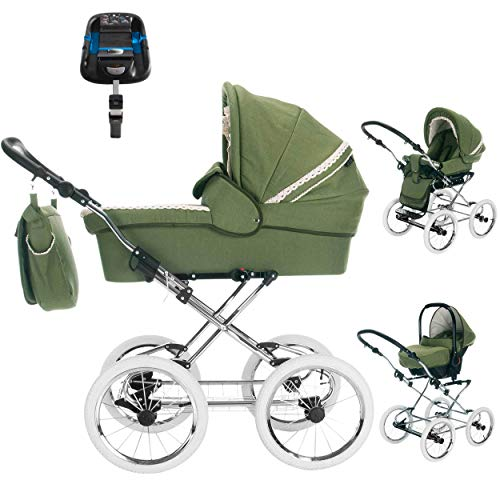 Friedrich Retro-Kinderwagen Natureline Uni  im Test
