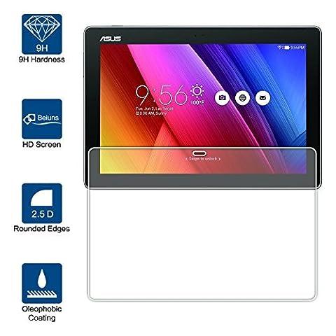 Beiuns Film Protection d'écran en Verre Trempé Ultra Dur Protecteur d'écran pour Asus ZenPad 10 Z300C