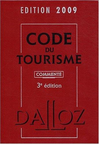 Code du tourisme commenté