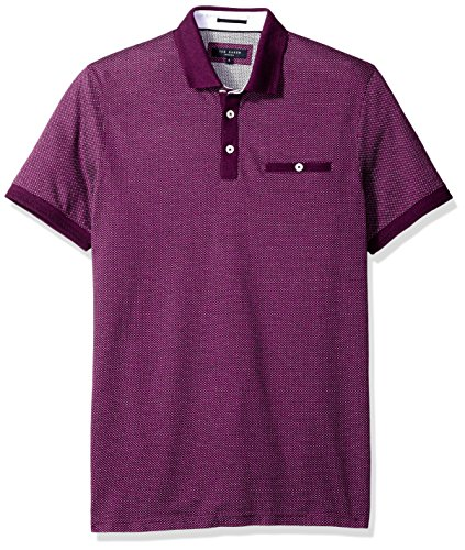 Ted Baker Men's Mid Blue Otto Polo Shirt Purple