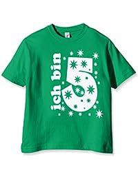 Coole-Fun-T-Shirts Ich Bin 5 Jahre, T-Shirt Fille