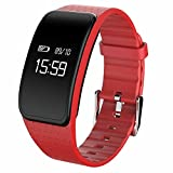 iHome Activity Tracker, Fitness Tracker-Smart Armband A59 Smart Watch, Schrittzähler GPS Tracker Aktivität Recording Kalorienzähler, Sleep Monitor, Antiverlust Wasserdicht Armband