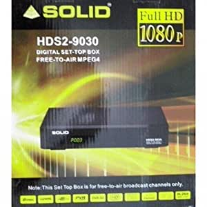 SOLID HDS2-9030 / MPEG-4 / DVB-S2 / Free-to-Air Set-Top Box