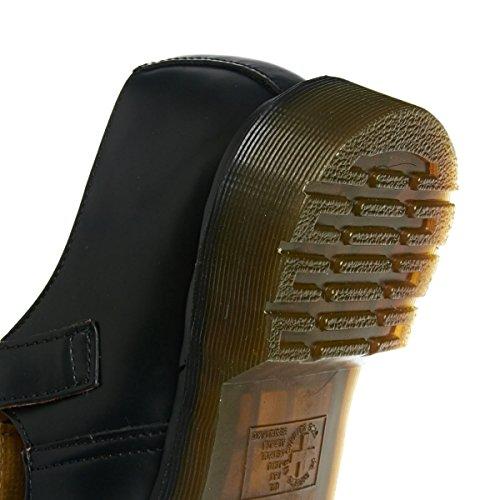Dr Martens Polley T Bar Shoe Noir Noir
