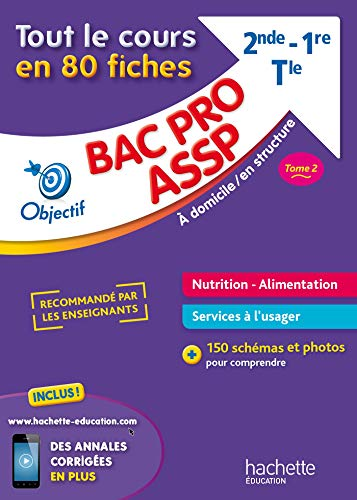 Fiches Bac pro ASSP Nutrition-Alimentation par Jean-Yves Gola