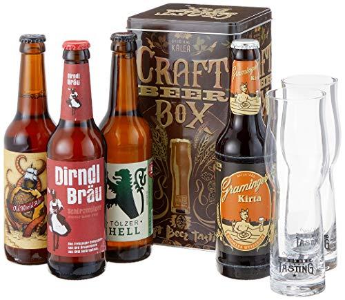 Kalea Beer Box Edition Craft, MEHRWEG (4 x 0.33 l) -