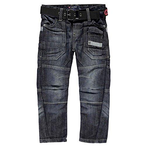 airwalk-ragazzi-cintura-cargo-jeans-bambini-denim-pantaloni-casual-dark-wash-2-3-yrs